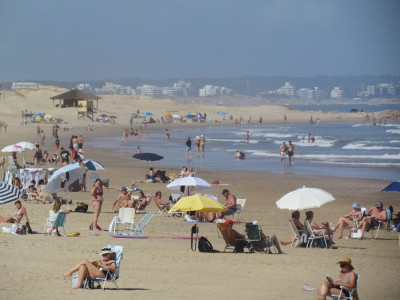 A Day at the Seaside in Punta Del Este